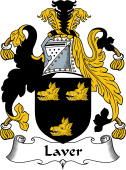 English Coat of Arms for Laver I