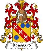Coat of Arms from France for Boussard