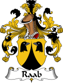 German Wappen Coat of Arms for Raab