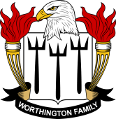 American Coat of Arms for Worthington