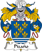 Spanish Coat of Arms for Pizaño