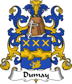 Coat of Arms from France for Dumay