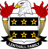 American Coat of Arms for Lenthall