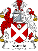 English Coat of Arms for Currie