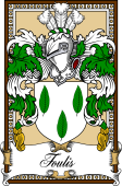 Scottish Coat of Arms Bookplate for Foulis