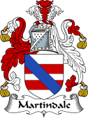 English Coat of Arms for Martindale