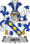 Irish Coat of Arms for Smith or Smyth