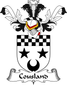 Coat of Arms from Scotland for Cousland