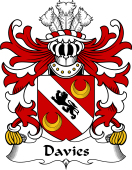 Welsh Coat of Arms for Davies (of Chester)