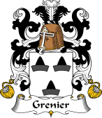 Coat of Arms from France for Grenier