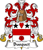 Coat of Arms from France for Busquet