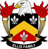 American Coat of Arms for Ellis