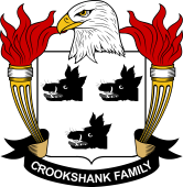 American Coat of Arms for Crookshank