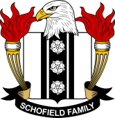American Coat of Arms for Schofield