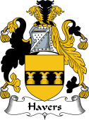 English Coat of Arms for Havers