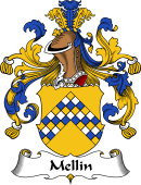 German Wappen Coat of Arms for Mellin