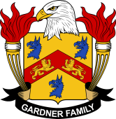 American Coat of Arms for Gardner