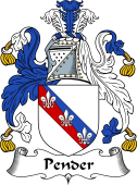 English Coat of Arms for Pender