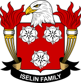 American Coat of Arms for Iselin