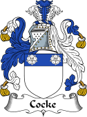 Scottish Coat of Arms for Cocke