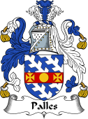 Irish Coat of Arms for Palles or Pallas