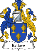 English Coat of Arms for Kellam