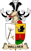 Republic of Austria Coat of Arms for Wallner