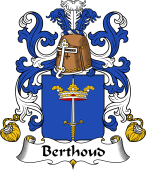 Coat of Arms from France for Berthoud
