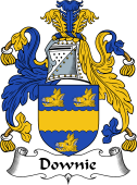 Scottish Coat of Arms for Downie or Downy