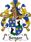 German Wappen Coat of Arms for Senger