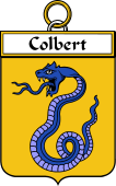 French Coat of Arms Badge for Colbert