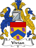 English Coat of Arms for Vivian