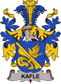 Swedish Coat of Arms for Kafle
