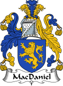 Irish Coat of Arms for MacDaniel