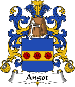 Coat of Arms from France for Angot