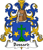 Coat of Arms from France for Bossard