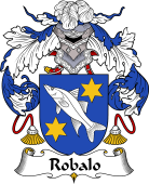 Portuguese Coat of Arms for Robalo