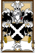 Scottish Coat of Arms Bookplate for Little