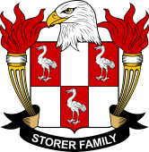 American Coat of Arms for Storer