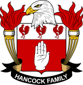 American Coat of Arms for Hancock