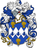 English or Welsh Coat of Arms for Dowman (Yorkshire)