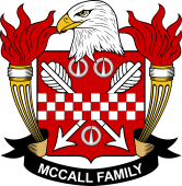 American Coat of Arms for McCall