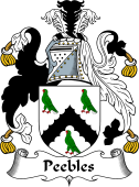 Scottish Coat of Arms for Peebles