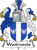 English Coat of Arms for Woodwards