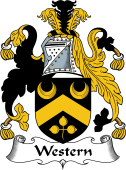 English Coat of Arms for Western