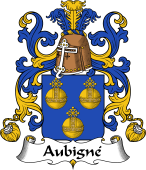 Coat of Arms from France for Aubigné