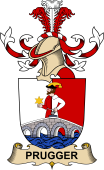 Republic of Austria Coat of Arms for Prugger