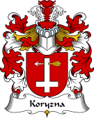 Polish Coat of Arms for Koryzna