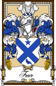 Scottish Coat of Arms Bookplate for Freer