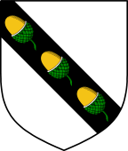 Coat of Arms from France for Ackers
